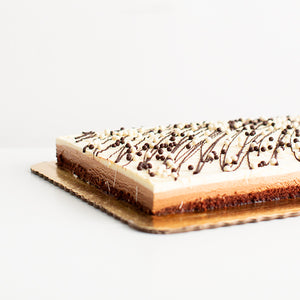 Mousse Sheet, Triple Chocolate Mousse