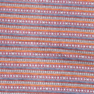 Multicolor Cotton Silk Fabric With Digital Print