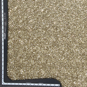 Gold Sequin Net Fabric