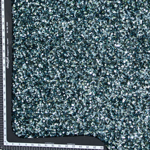 Bottle Green Sequin Net Fabric