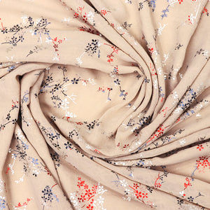 Imported Foil Print Georgette Fabric