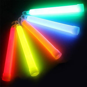 Multicolor 5pcs, 6 inch Chemical Light Stick