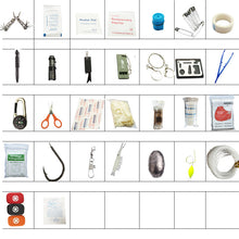 Load image into Gallery viewer, 82 in 1 Mini Outdoor Survival and First Aid Kit