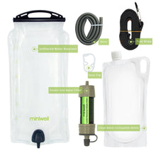 Load image into Gallery viewer, Prepper Miniwell gravity water filter system (FREE SHIPPING)