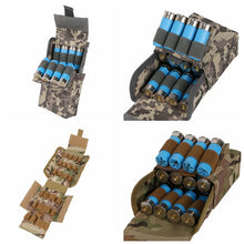 Load image into Gallery viewer, 25 Round 12 Gauge Ammo Shells Molle Magazine Pouch