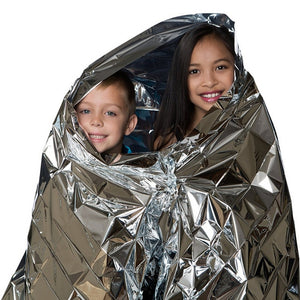Prepper Outdoor Waterproof Emergency Foil Survival Blanket