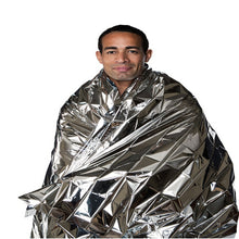 Load image into Gallery viewer, Prepper Outdoor Waterproof Emergency Foil Survival Blanket