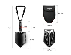 Prepper WORKPRO Military Tactical Folding Shovel