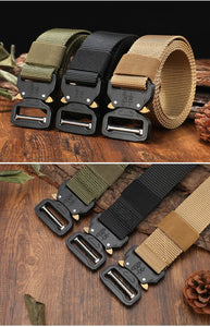 Prepper New Nylon Tactical Military Belt