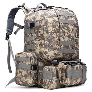 Prepper Tactical 4 in 1 Military Molle Backpack