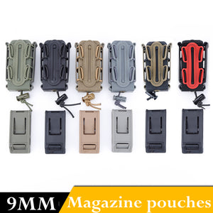 Prepper Tactical Molle 9MM Waist Magazine Pouch (FREE SHIPPING)