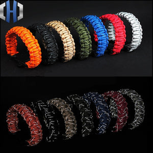 Prepper Nine Core Glowing Reflective Paracord (9.6 inches)