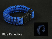 Load image into Gallery viewer, Prepper Nine Core Glowing Reflective Paracord (9.6 inches)