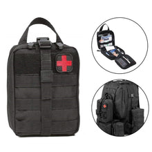 Load image into Gallery viewer, Prepper Waterproof Tactical Waist Carry First Aid Kit (BAG ONLY)