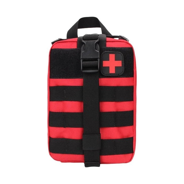 Prepper Waterproof Tactical Waist Carry First Aid Kit (BAG ONLY)