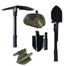 Load image into Gallery viewer, Prepper Portable Small Multi-Function Survival Shovel