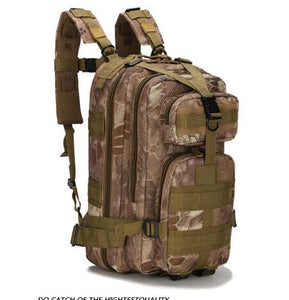 Prepper Military Rucksacks 1000D Nylon Waterproof Tactical Backpack