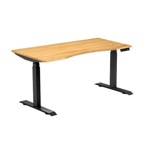 OCD bamboo ergo Edge Sit Stand Desk