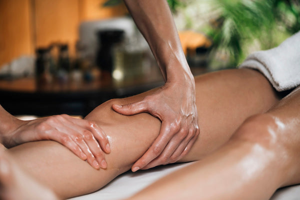 leg massage for swelling problems