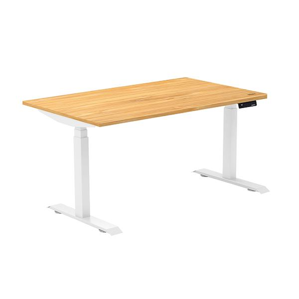 OCD Dual Bamboo Sit Stand Desk