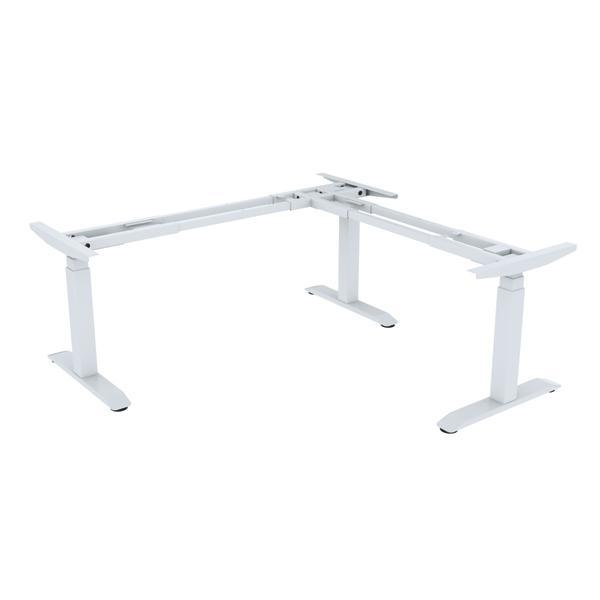 OCD Sit Stand L-Shape Desk Frame
