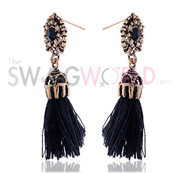 Abigail Black Earrings - TheSwagWorld