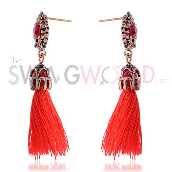 Abigail Red Earrings - TheSwagWorld