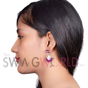Ambika Earrings - TheSwagWorld