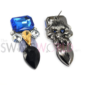 Amyra Blue Earrings - TheSwagWorld