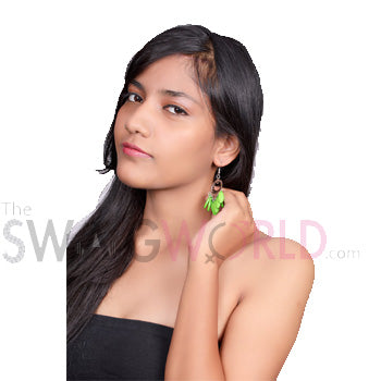 Ashley Green Earrings - TheSwagWorld