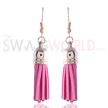 Faber Pink Earrings - TheSwagWorld