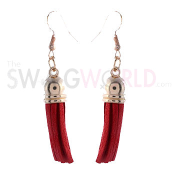 Faber Red Earrings - TheSwagWorld