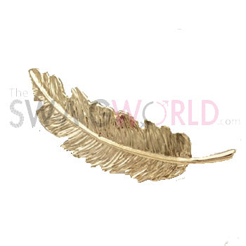Golden Leaf Hair Pin - TheSwagWorld