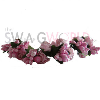 Pink Floral Juda Accessory - TheSwagWorld