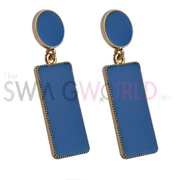 Samantha Blue Earrings - TheSwagWorld