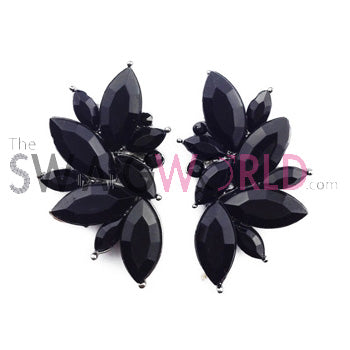 Sophia Black Earrings - TheSwagWorld