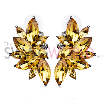 Sophia Gold Earrings - TheSwagWorld