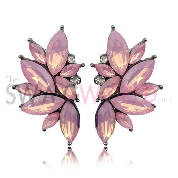 Sophia Pink Earrings - TheSwagWorld