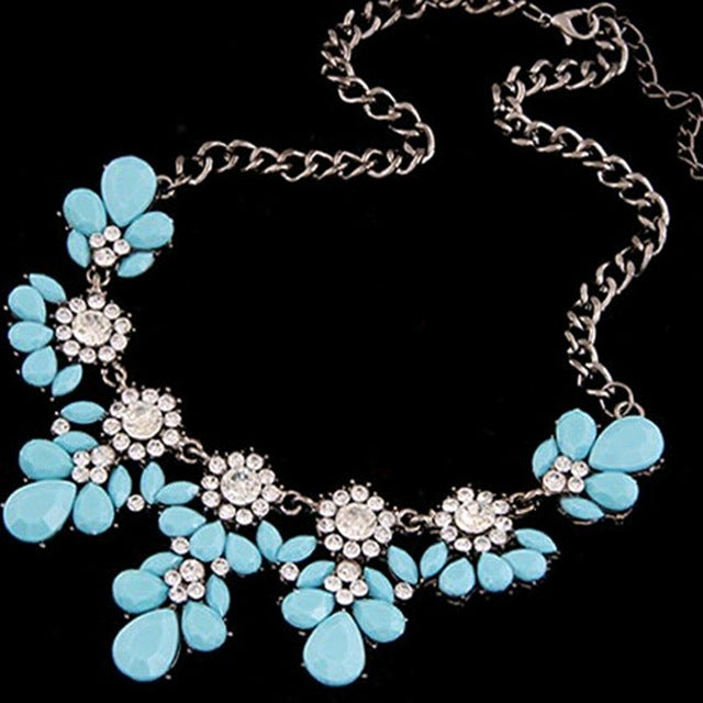 Candy Sky Blue Necklace