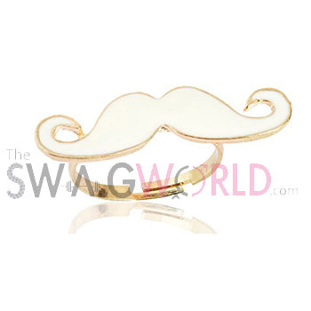 White Mustache - TheSwagWorld
