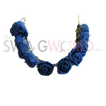 Blue Floral Juda Accessory - TheSwagWorld