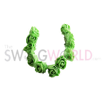 Green Floral Juda Accessory - TheSwagWorld