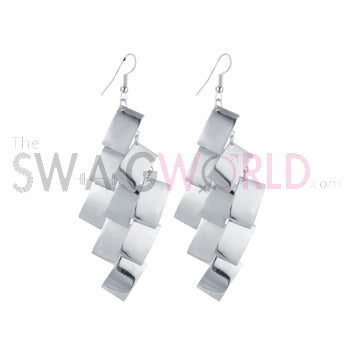 Maggie Silver Earrings - TheSwagWorld