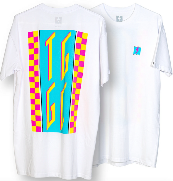 Neon Disco T-Shirt Takeda Customs