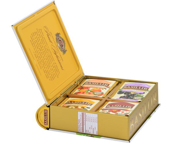 Tea Book - Fruits Infusions Assorted - Summer Fiesta