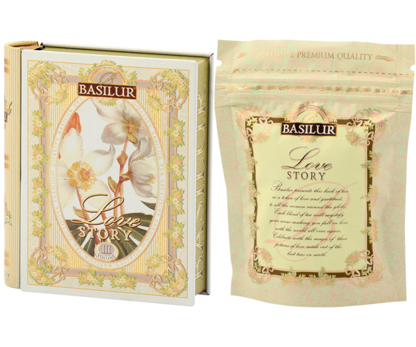 Miniature Tea Book 'Love Story' Volume III