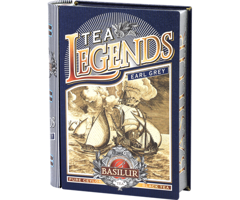 Tea Book - Tea Legends - Earl Grey
