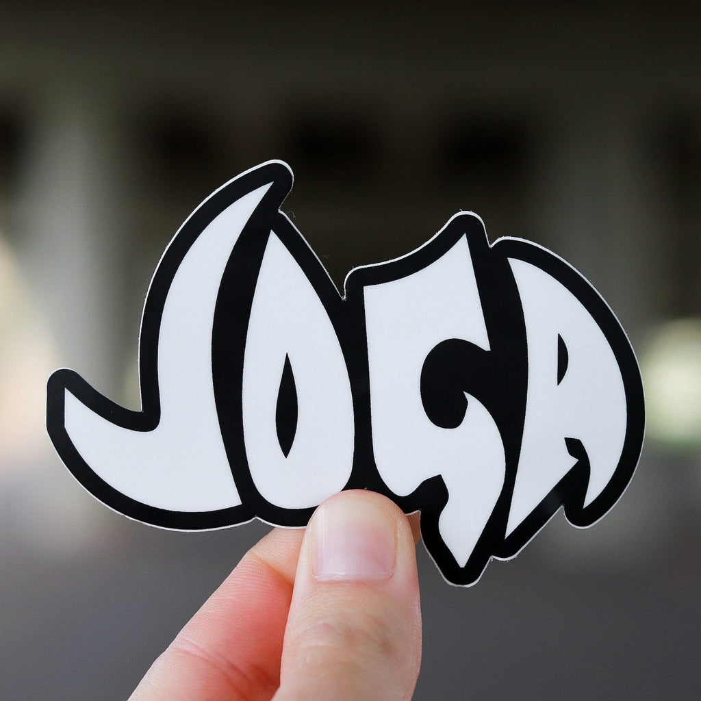 "Joga Sticker Vibes Football Club 4"" x 2.84"""