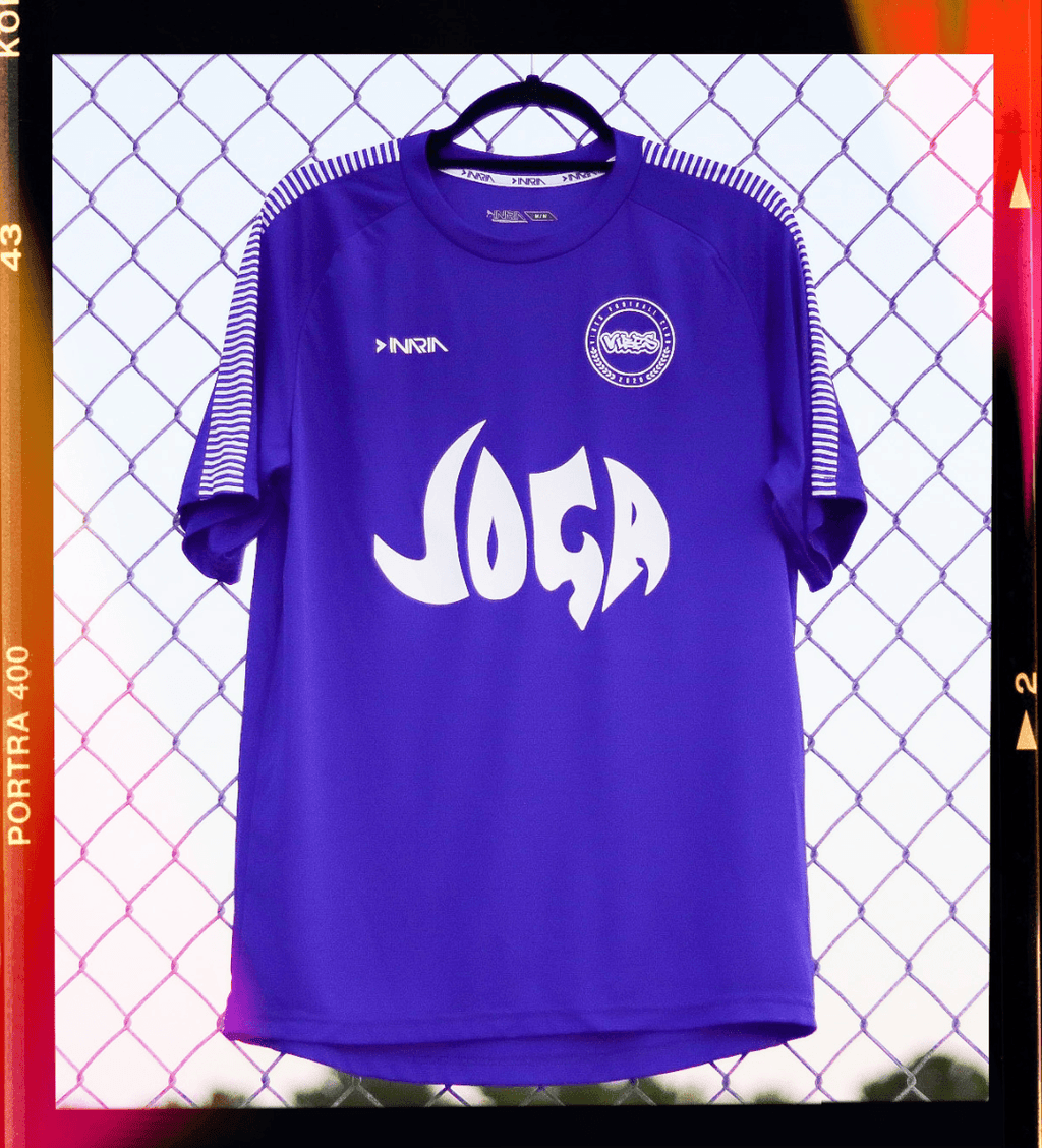 Purple Joga Jersey Vibes Football Club