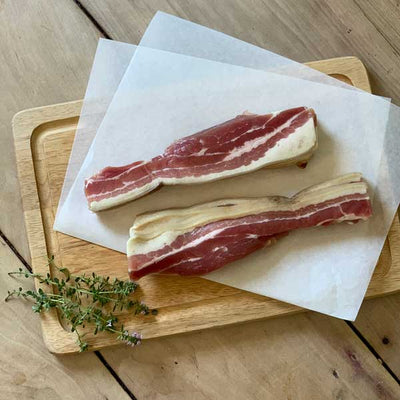 Sandridge Farm Unsmoked Streaky Bacon
